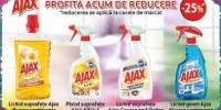 25% reducere la produsele Ajax!