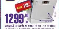 Masina de spalat vase Beko DFN6833