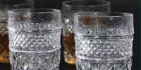 Set 9 pahare whiskey classic 240 mililitri, cristal Bohemia