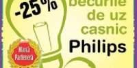 25% reducere la becurile de uz casnic Phillips