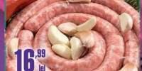 Chipolatas de porc