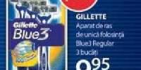 Aparat de ras de unica folosinta Blue3 Regular Gillette