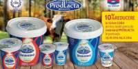 10% reducere in tichet Cora pentru toata gama de smantana Prodlacta