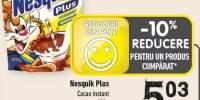Cacao instant Nesquik Plus