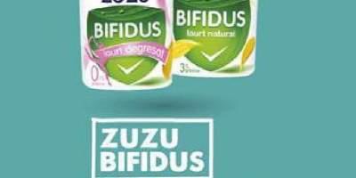 Iaurt natural degresat, Zuzu Bifidus
