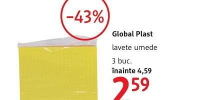 Lavete umede, Global Plast