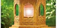 Lampa solara in forma de pagoda
