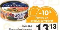 Baltic Club file somon afumat in suc propriu