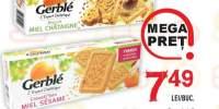 Gerble biscuiti Omega 3 cu castane/ bifidus cu miere&susan