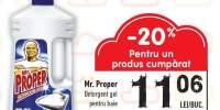 Detergent gel Mr. Proper