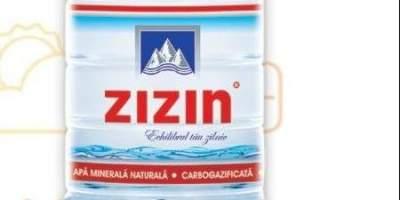 Apa minerala carbogazoasa Zizin 2.5 L