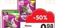 Hrana pentru pisici 7+ cu miel/pasare Whiskas