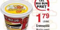 Mustar crema Crenvustila