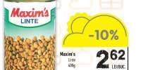 Linte Maxim's