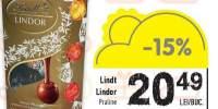Praline Lindt Lindor