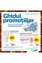 Catalog Sensiblu farmacie 1 decembrie 2018 - 9 ianuarie 2019 'Ghidul promotiilor'